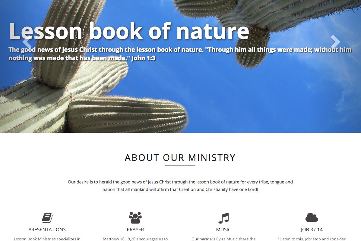 Client: Lesson Book Ministries