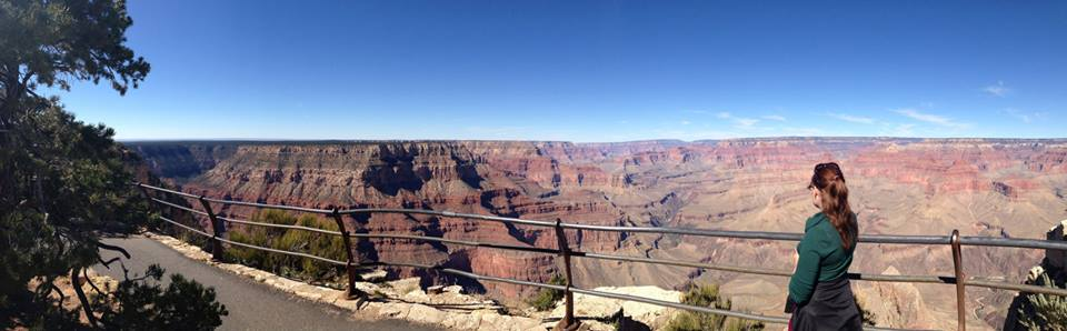 In awe of the Grand Canyon, Arizona, United States, during my first visit in 2013.